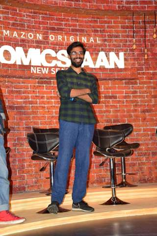 Well-known Comedians snapped at the Trailer launch of Comicstaan 2