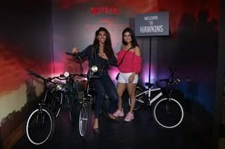 Celebrities at the screening of Stranger Things season 3!
