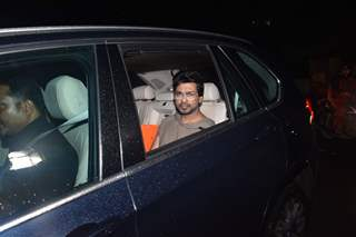 Nikhil Dwivedi was papped at the special screening of Super 30