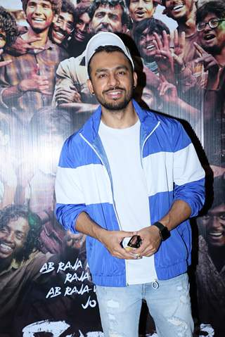 Tony Kakkar was papped at the special screening of Super 30