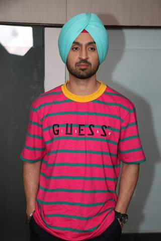Diljit Dosanjh at promotions of Patiala House