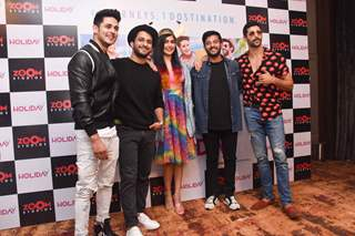 Celebrities at the promotions of new web-series - Holiday