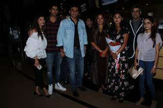 Cast of Sanjivani at the special screening
