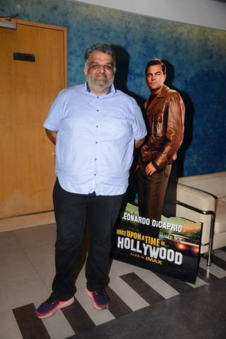 Celebrity at the special screening of Once Upon a Time in Hollywood!