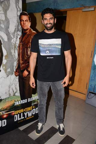 Aditya Roy Kapoor at the special screening of Once Upon a Time in Hollywood!