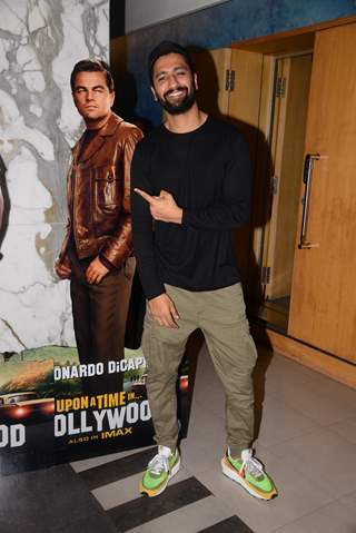 Vicky Kaushal at the special screening of Once Upon a Time in Hollywood!