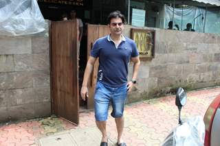 Arbaaz Khan spotted around the town!