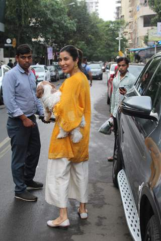 Sophie Choudry spotted around the town!