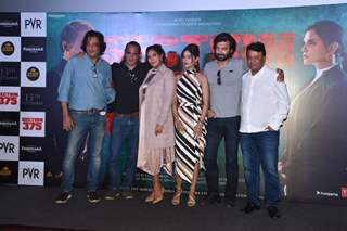 Celebrities at the trailer launch of upcoming film Section 375!