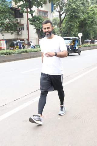 Anand Ahuja snapped around the town