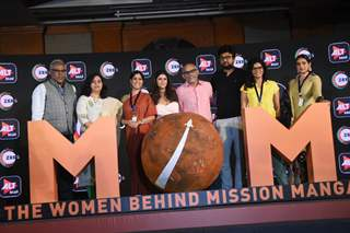 Celebrities snapped at the trailer launch of Mission Over Mars (MOM) and Coldd Lassi and Chicken Masala