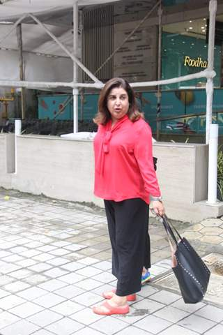 Farah Khan snapped around the town!