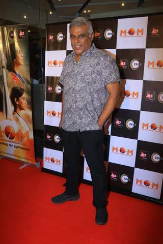 Ashish Vidyarthi at the screening of MOM