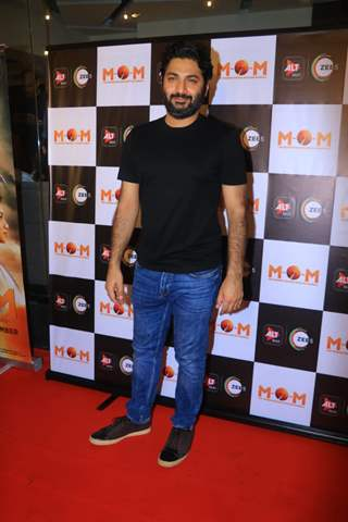 Purab Kohli at the screneing of MOM