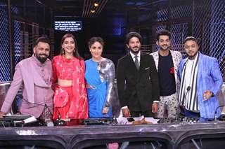 Karan Wahi, Raftaar, Kareena Kapoor Khan, Bosco Martis along with Sonam Kapoor and Dulquer Salman