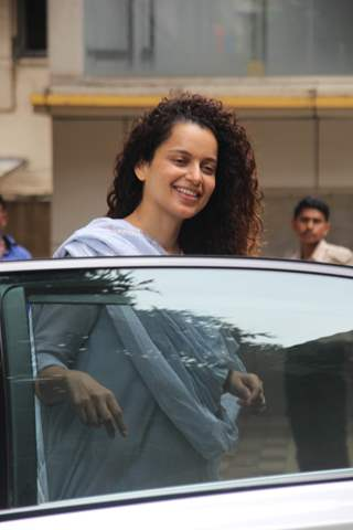 Kangana Ranaut snapped around the town!