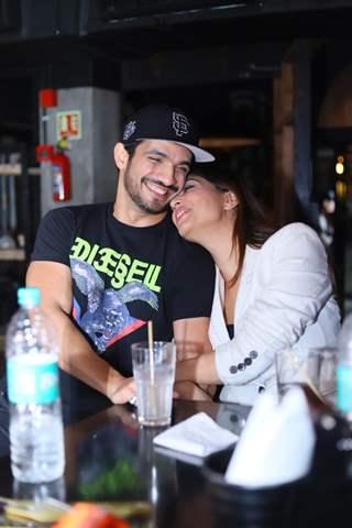 Arjun Bijlani and Neha Swami