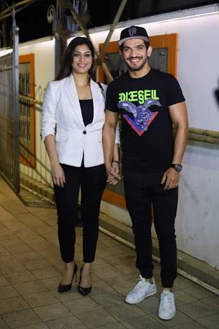 Arjun Bijlania and Neha Swami