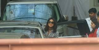 Priyanka Chopra snapped at Sunny Super Sound, Andheri!