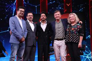 Shah Rukh Khan at the launch of Ted Talks India Nayi Baat!