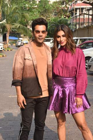 Rajkummar Rao and Mouni Roy snapped at the promotions of Made in China!