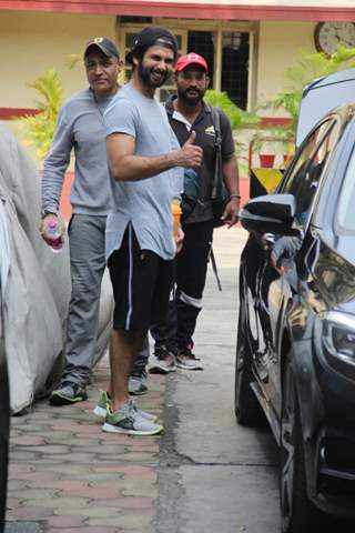 Shahid Kapoor snapped around the town!