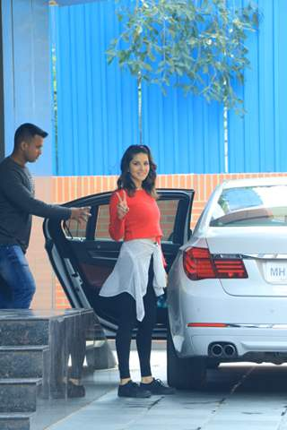 Sunny Leone snapped around the town!
