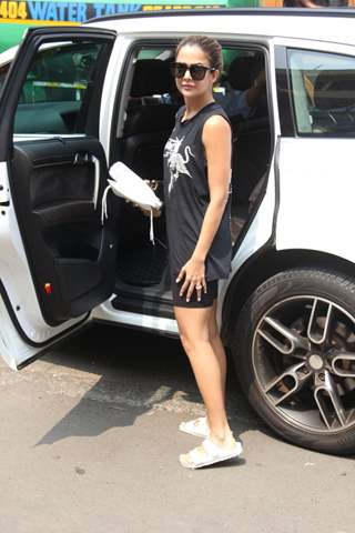Amrita Arora snapped around the town!