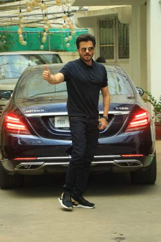 Anil Kapoor snapped around the town!