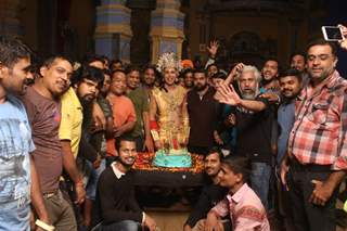 Ssudeep Sahir and the team of Paramavatar Shri Krishna