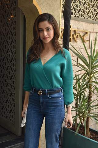 Aamna Shariff snapped around the town!