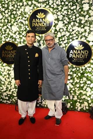 Anand Pandit and Sanjay Leela Bhansali