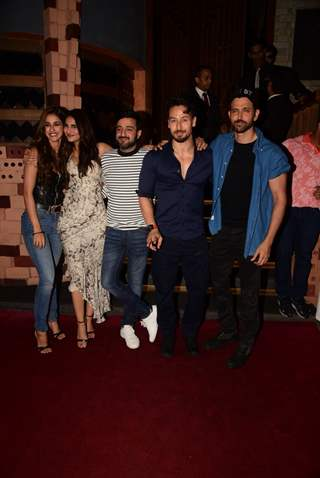 Tiger Shroff and Hrithik Roshan celebrate the success of War!