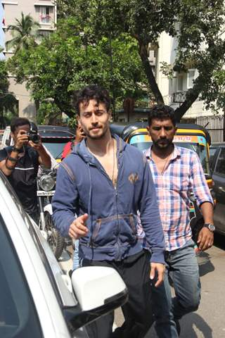 Tiger Shroff papped around the town