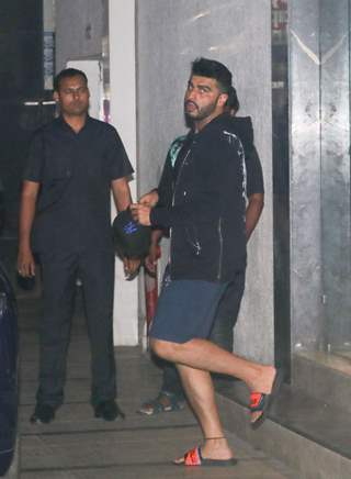 Arjun Kapoor papped around the town