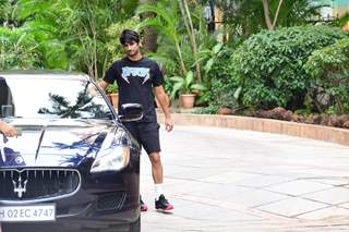 Sushant Singh Rajput snapped around the town!