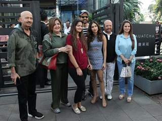 The Roshan's papped around the town