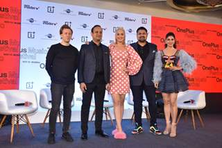 Katy Perry and Jacqueline Fernandez attend Oneplus Music festivale press conference in Mumbai!