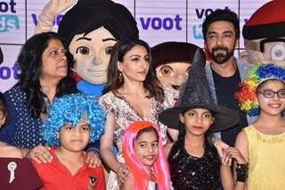 Soha Ali Khan and Ashish Chowdhry snapped at Voot's launch