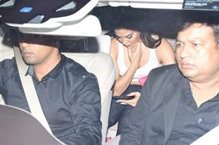 Jacqueline Fernandez snapped around the town