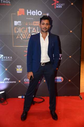 Terence Lewis papped at MTV Digital Awards