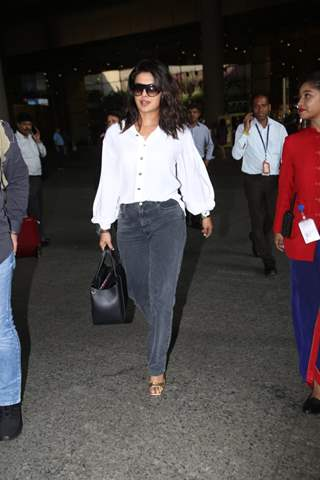 Priyanka Chopra Jonas snapped at the airport