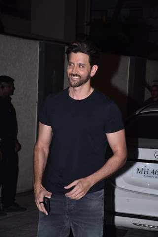 Hrithik Roshan snapped around the town
