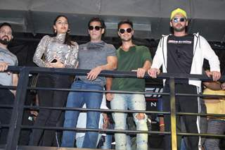 Saiee Manjrekar, Salman Khan, Aayush Sharma and Zaheer Iqbal papped at the launch of Being Strong