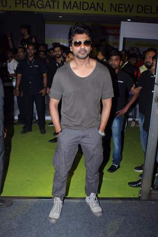 Nikhil Dwivedi papped at the launch of Being Strong