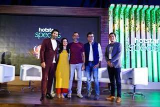 Purab Kohli, Rasika Dugal, Aijaz Khan, Gaurav Banerjee (President & Head – Hindi Entertainment, Star India) and Sameer Gogate