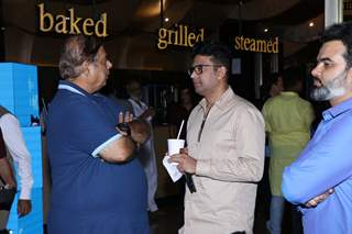 Bhushan Kumar and David Dhawan papped at the special preview of Tanhaji: The Unsung Warrior