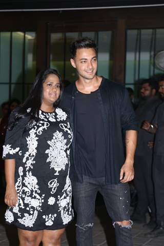 Arpita Khan Sharma and Aayush Sharma