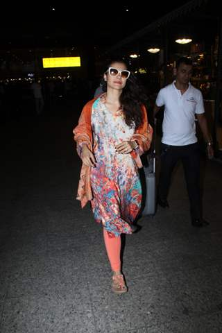 Kajol papped at the airport