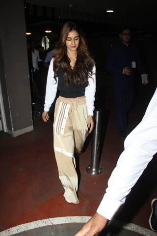 Disha Patani papped at the airport